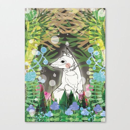 In the Midnight Garden Canvas Print