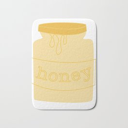 honey Bath Mat