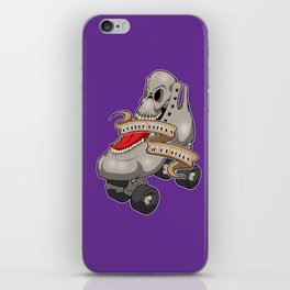 Roller Derby's in my Bones iPhone Skin