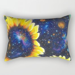 Outer and inner suns Rectangular Pillow