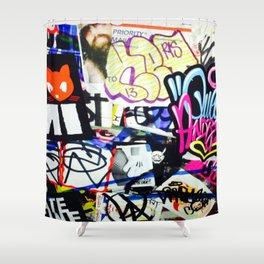 grafiti v.5 Shower Curtain