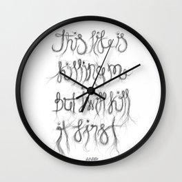 This Life… Wall Clock