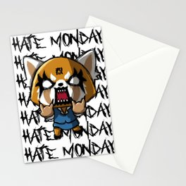 I hate the mondays Stationery Cards