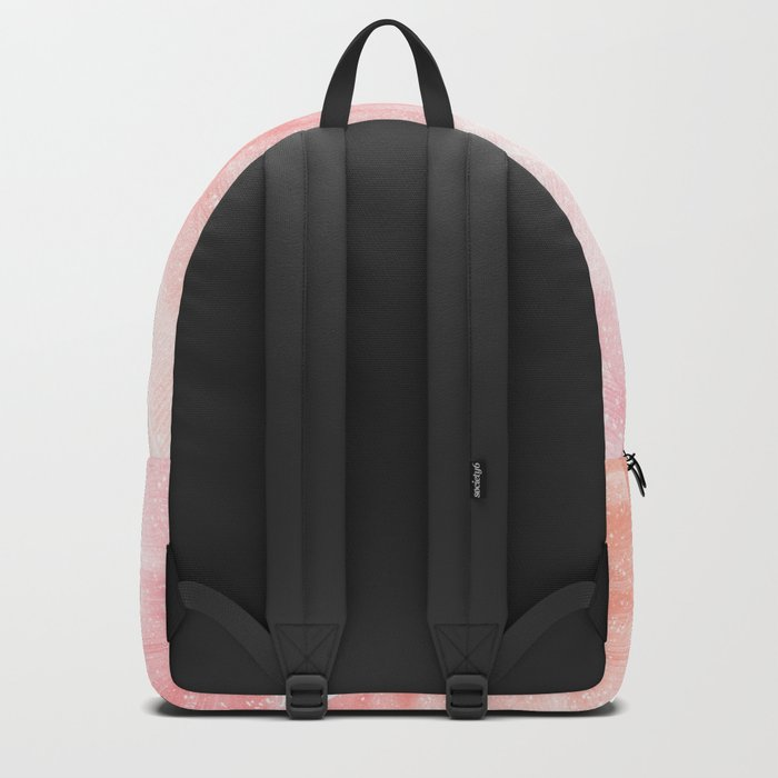 Banana Leaves Pink Backpack