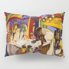 Ices by Jacob Lawrence African American Masterpiece Pillow Sham