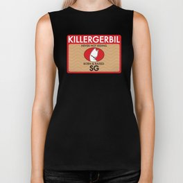 Killer Gerbil Red Tubing Biker Tank