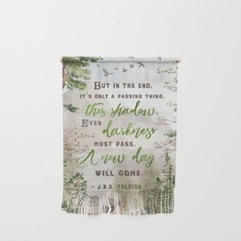 But in the end Wall Hanging