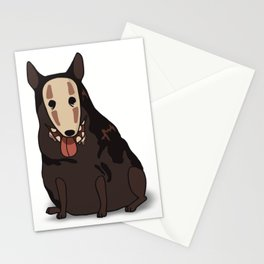 Ghost dog Stationery Cards