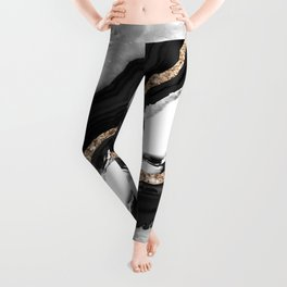 Agate Glitter Glam #2 #gem #decor #art #society6 Leggings
