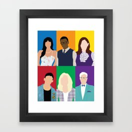 The Good Place Framed Art Print