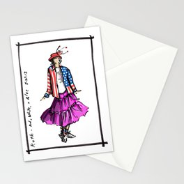 Ruth on Memorial Day Stationery Cards