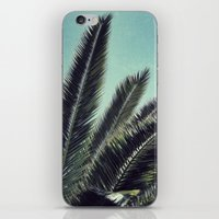 palms iPhone & iPod Skins featuring Palms by RichCaspian