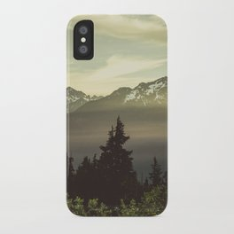 Morning in the Mountains iPhone Case