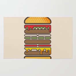 All On A Sesame Seed Bun Rug