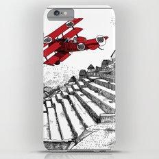 asc 114 - Le Baron Rouge & son ours Darwin (La montagne où tombent les étoiles) iPhone 6 Plus Slim Case