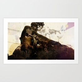 Black idol Art Print