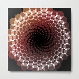 more spirals Metal Print