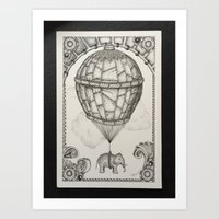 The Theory of Air #3 Art Print