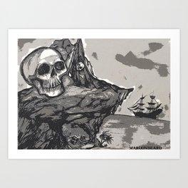 Maroonbeard's Gold Art Print
