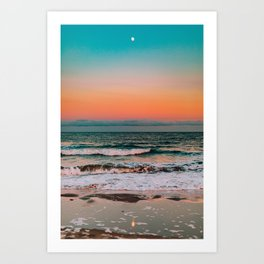shoreline #society6 #decor #buyart Art Print
