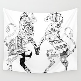 Everything British Wall Tapestry