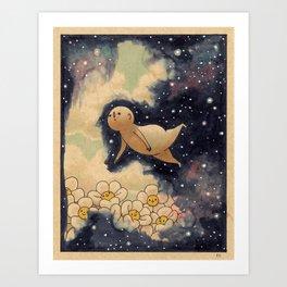 Sky Swimming  Art Print