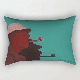 Monsieur Hulot Rectangular Pillow