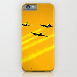 Feeling of weightlessness iPhone Case
