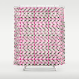 Pink Eye Shower Curtain