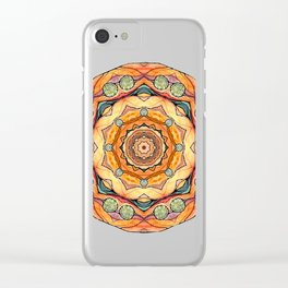 mandala#31 Clear iPhone Case