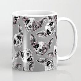 Shynx Half Skull Pattern Coffee Mug