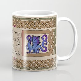 Eat, Sleep, Tea & Dragons Coffee Mug