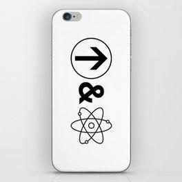Up&Atom. iPhone Skin