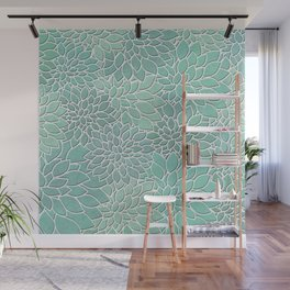 Floral Abstract 28 Wall Mural