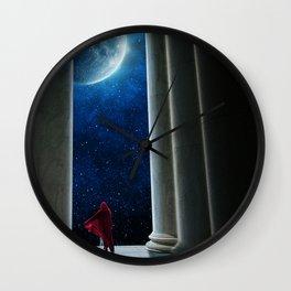 Moon Temple Wall Clock