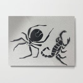 Small but Deadly Metal Print