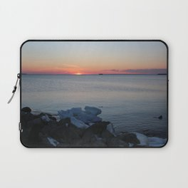 Late winter - early spring sunset Laptop Sleeve