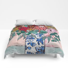 Australian Native Bouquet of Flowers after Matisse Comforters