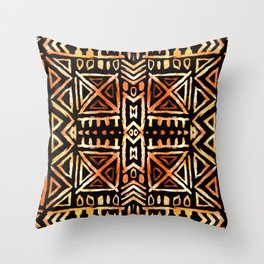 African print Throw Pillow