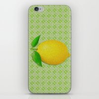 lemon iPhone & iPod Skins featuring Lemon by Mr and Mrs Quirynen