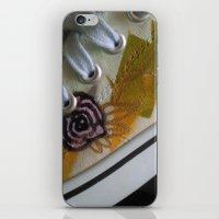 sneaker iPhone & iPod Skins featuring sneaker art by mindsplat
