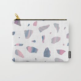 Fluid Terrazzo Carry-All Pouch