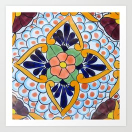 Talavera Nine Art Print