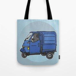 Tricycle Van Threewheeler Transporter Tote Bag