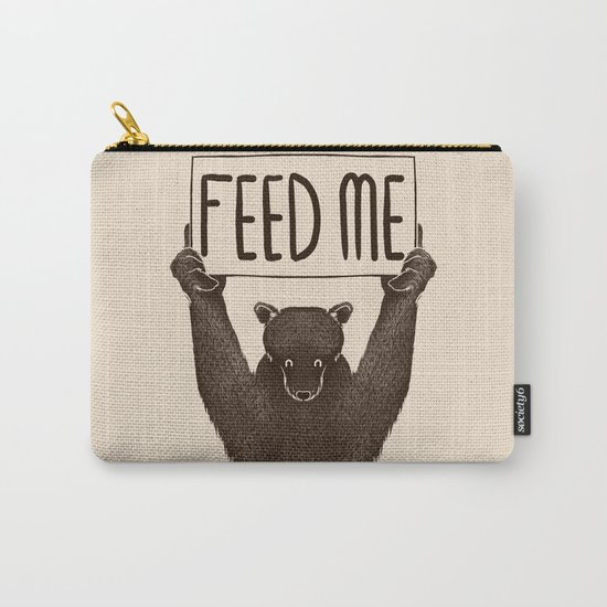 Feed Me Bear Carry-All Pouch