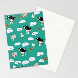 Onomatopoeia Stationery Cards