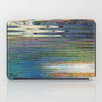 glitch iPad Cases featuring glitch by srahburger