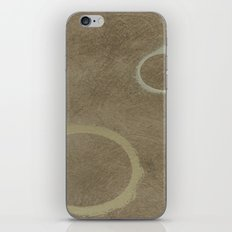 Two Circles - Modern Art - Abstract - Fine Art - California Cool - Popular Painterly iPhone & iPod Skin