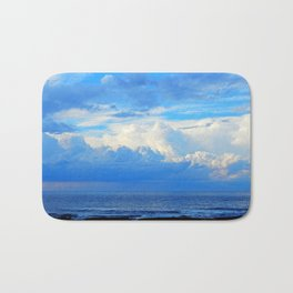 Clouds out at Sea Bath Mat
