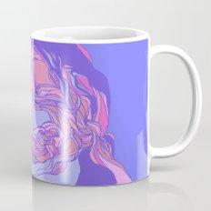 Lilac  & pink abstract theme Mug